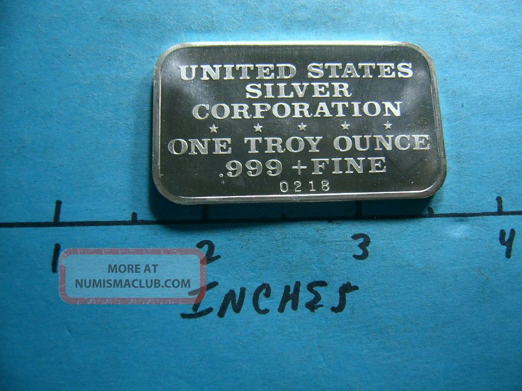 Red Wolf Pack Grows Smaller 1974 Vintage 999 Silver Bar
