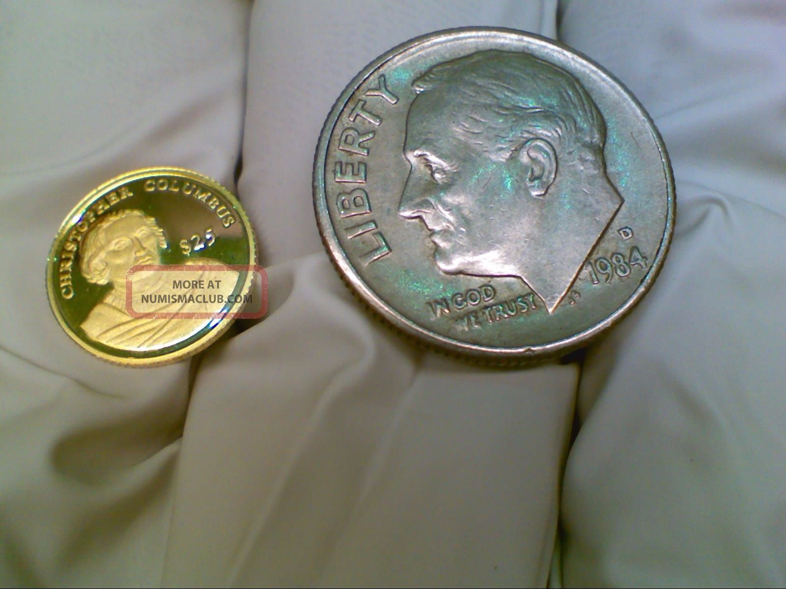 2000 Republic Of Liberia 25 Gold Coin 73g Worlds