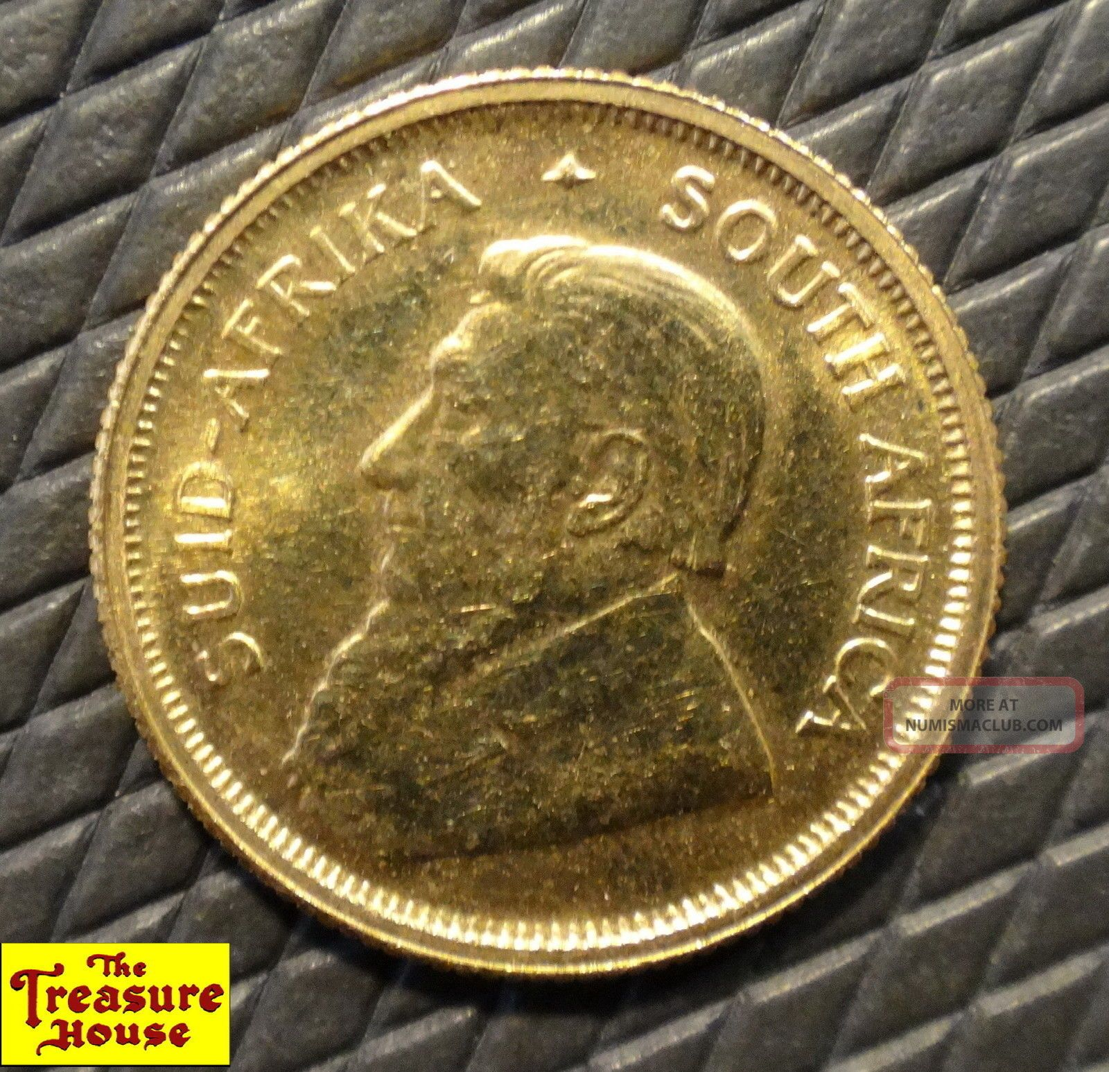 2001 South Africa 1/10 Oz Tenth Krugerrand 22k 91.  7 Solid Gold Bullion Coin Nr Gold photo