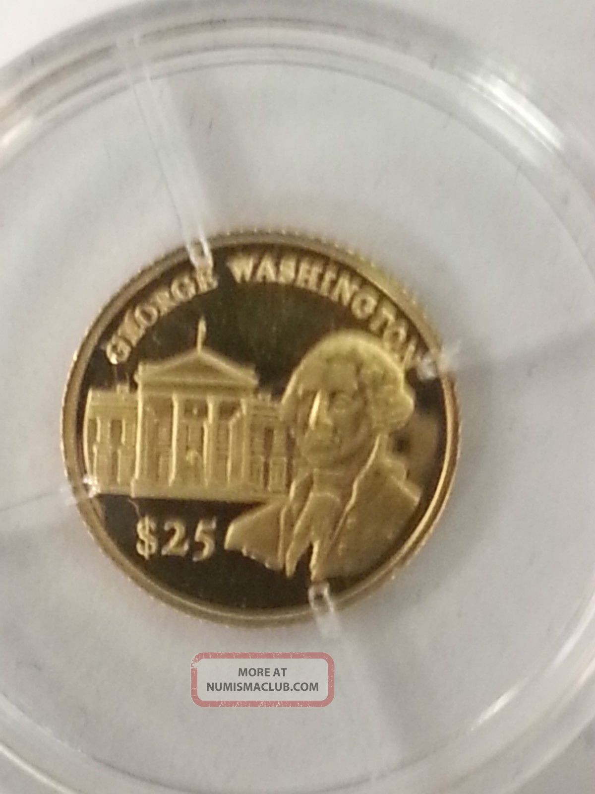 2000 Republic Of Liberia 25 Gold Coin 7300g Worlds