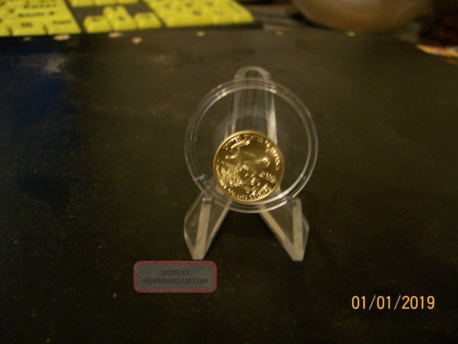 2008 1 10oz Fine Gold American Eagle 5 00 Bullion Coin Low Mintage