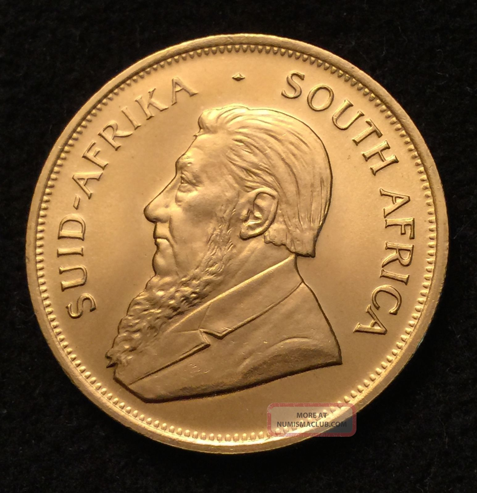 1983 1 Oz South African Gold Krugerrand Bullion Coin 22 Kt Pure Gold