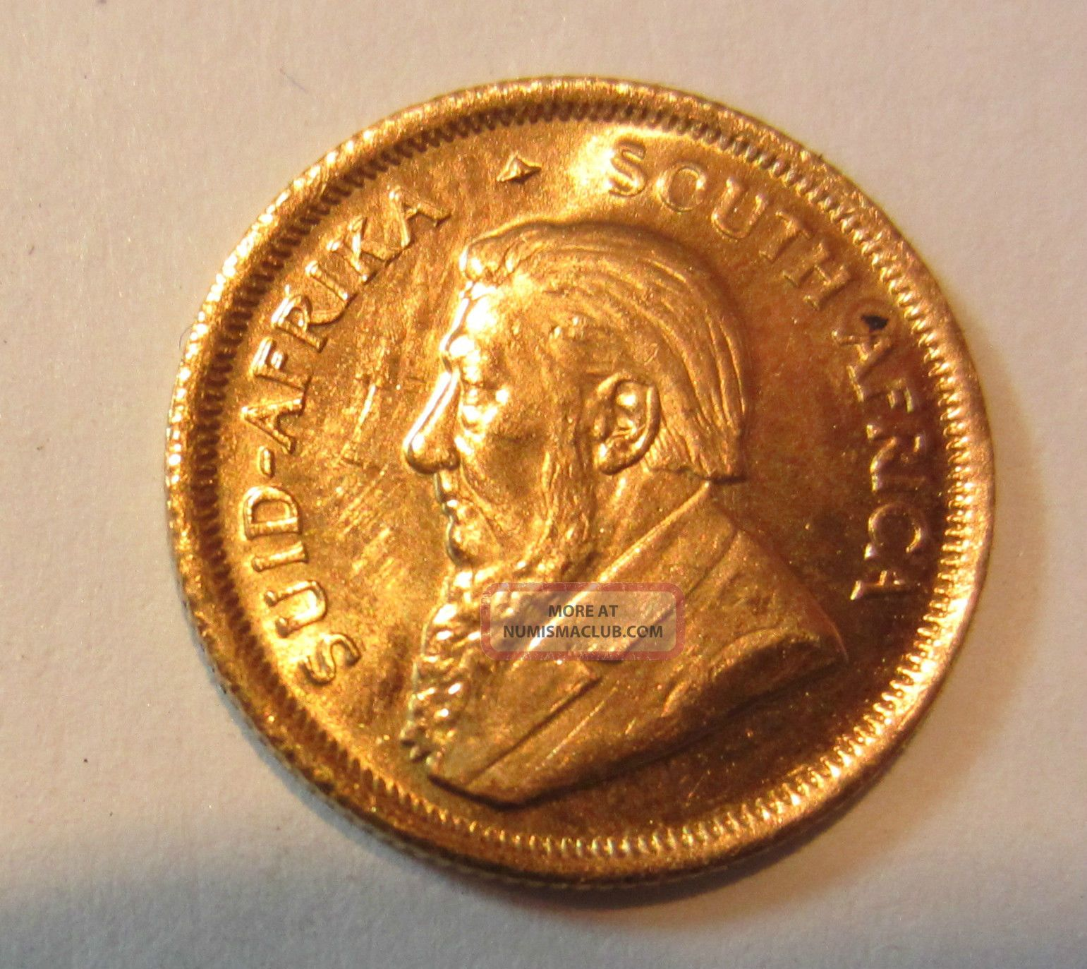1983 South African Krugerrand 1 10 Oz Gold Coin