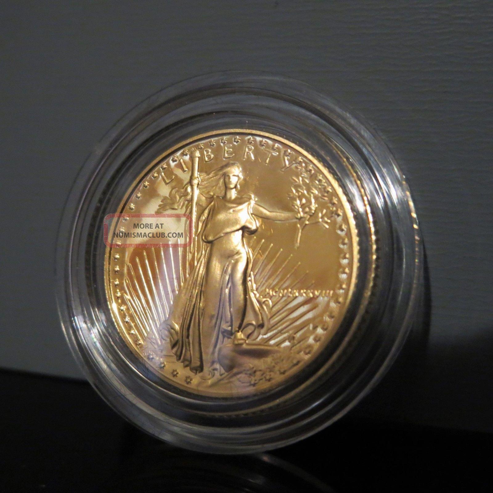 1988 P American Eagle Liberty 10 Us 1 4 Oz Proof Gold