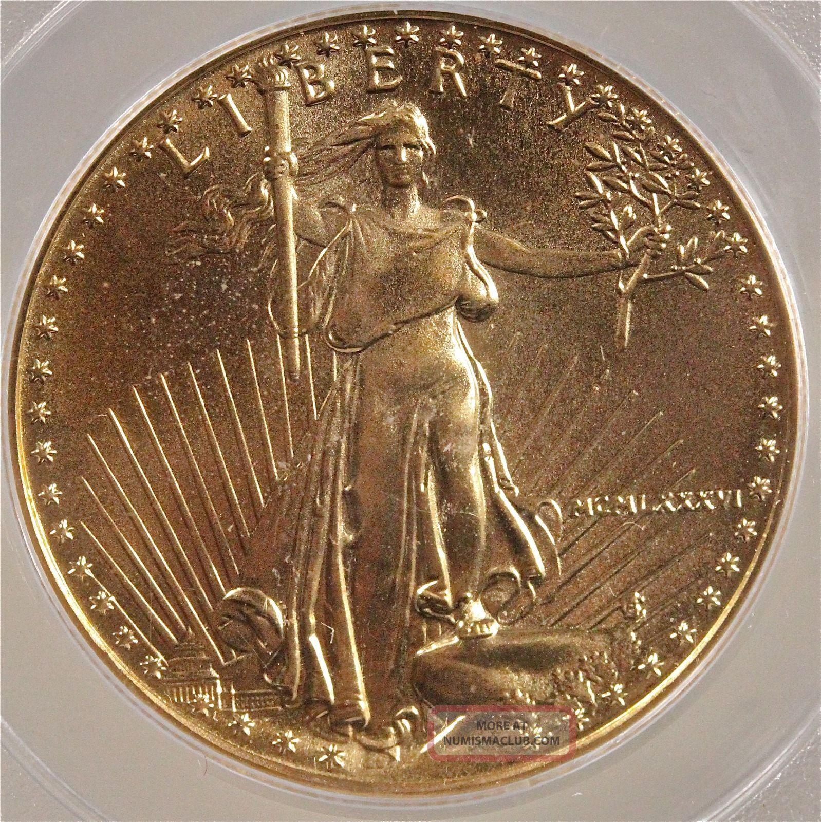 1986 American Gold Eagle Pcgs Ms69 189 Oz Gold 25 Dollar