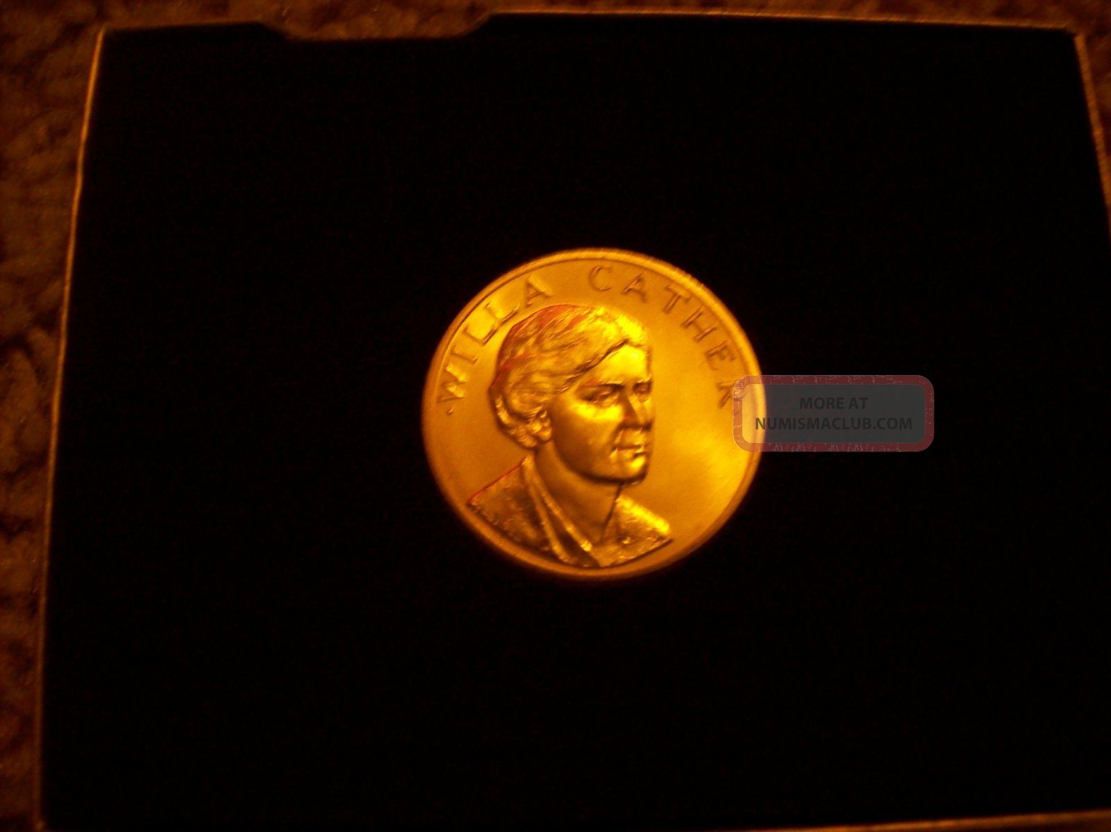 1982 Frank Lloyd Wright American Arts Gold Medallion
