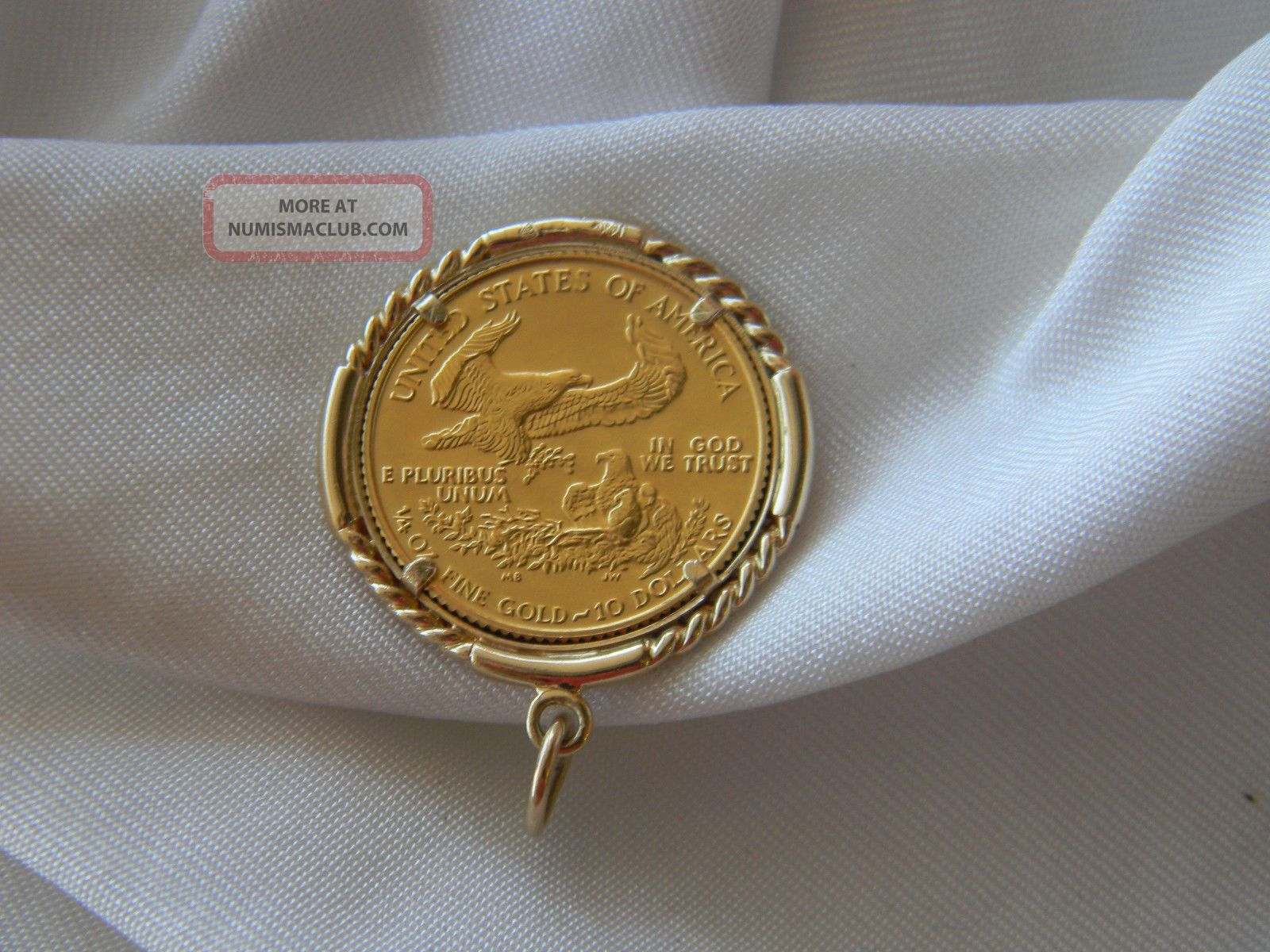 Fine Gold Liberty Walking 1 4 Ounce Eagle 1989 10 00 In