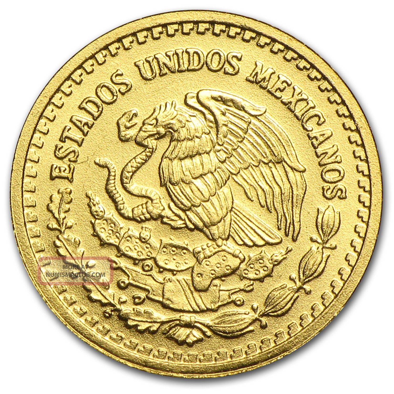 2006 1 20 Oz Gold Mexican Libertad Coin Brilliant