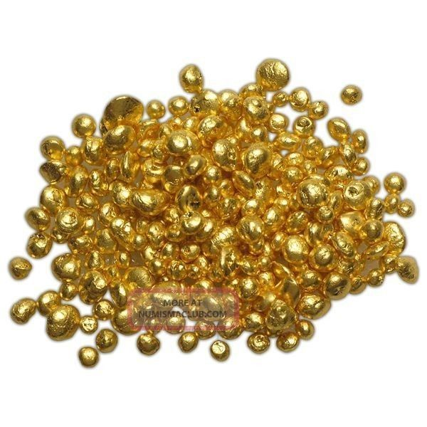 1 Grain 24k 999 Gold Shot Also Called Nuggets Not Scrap