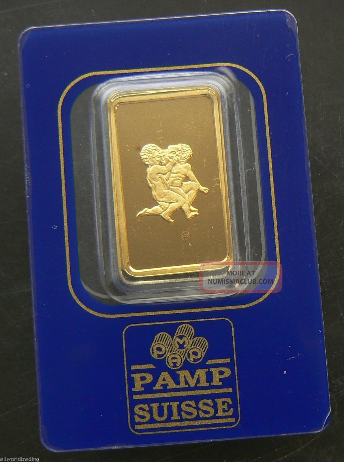Gemini Zodiac 10 Gram Pamp Gold Bar 24k.  9999 Pure Bar 580682 Gold photo