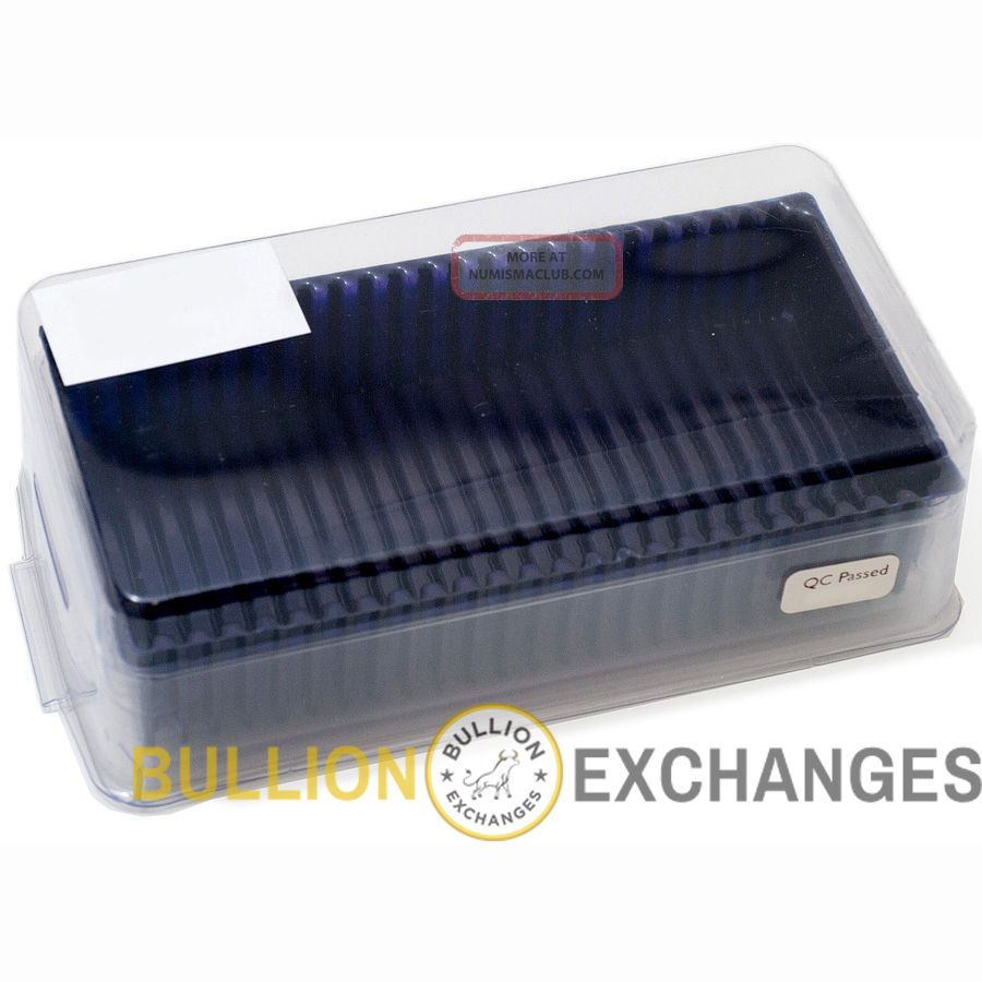 Pamp Suisse Bullion Storage Box Holds 25 Assay Cards
