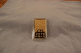 1 Troy Ounce Canadian Real Fine Gold Bar photo