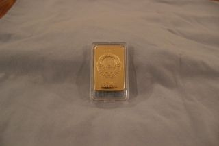 30 Gramm Soviet Union Usssr 999/1000 Gold Bar photo