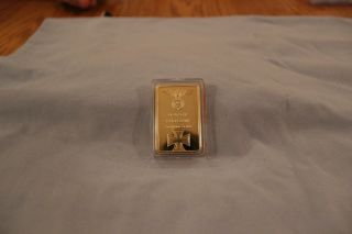 1 Oz Deutsche Reichsbank Gold Bar.  999/1000 Gold photo