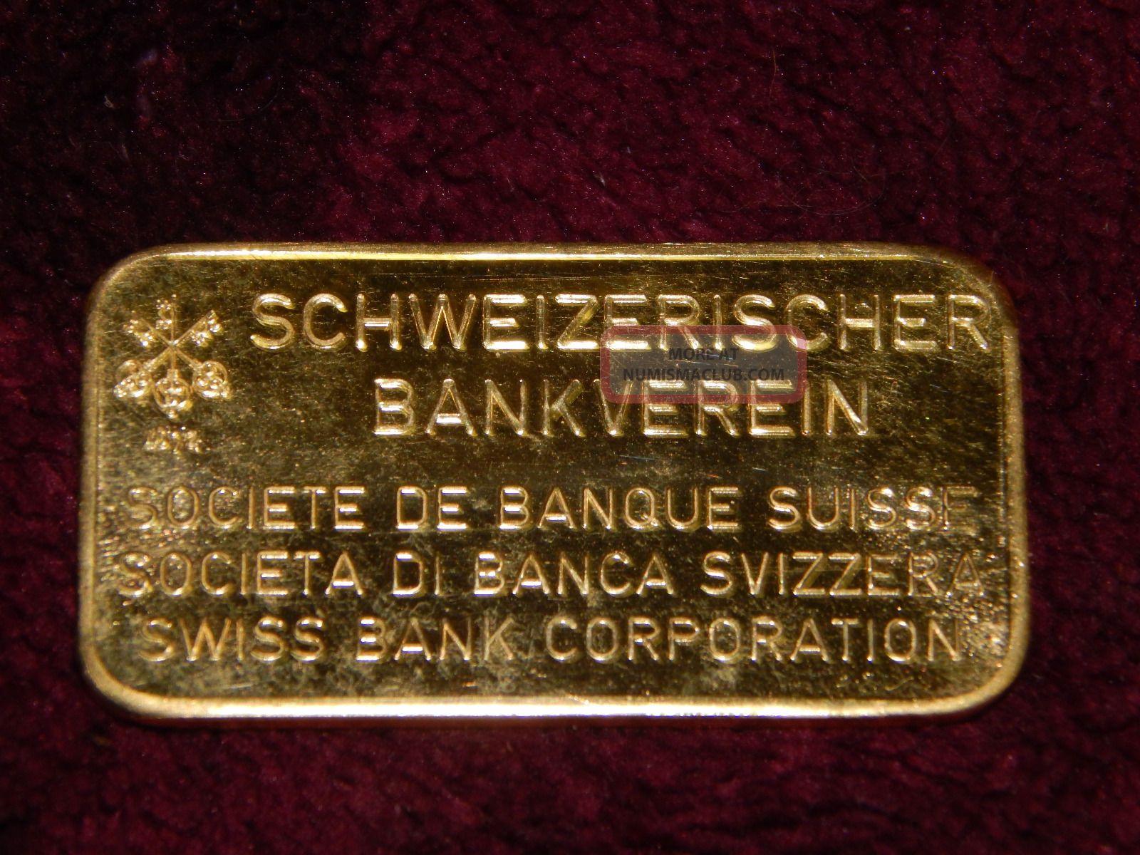 20 Gram Gold Bar 24 Karat Pure 9999 Fine Swiss Bank With Case Sleeve