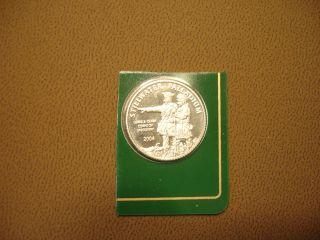 2004 Stillwater Palladium 1/10 Ounce Coin Lewis & Clark photo