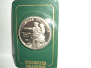 2004 Stillwater Palladium One Ounce Coin Lewis & Clark photo