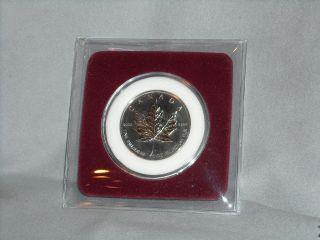 2005 1 Oz.  Palladium Canadian Maple Leaf photo