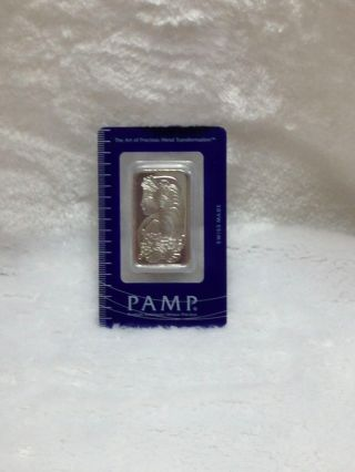 Pamp 1 Ounce.  999 Fine Palladium Bar - With Assay Certificate 120780 photo