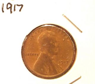 1917 Lincoln Cent photo