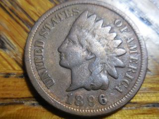 1896 Indian Head Cent photo