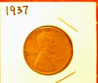 1937 Lincoln Cent photo