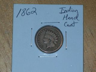 1862 Indian Head Cent (coin) photo