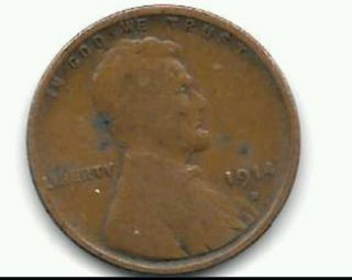 1914 D Lincoln Wheat Cent Key Date photo