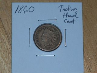 1860 Indian Head Cent (coin) photo