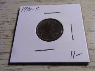 1910 S Lincoln Cent - Tough Early Year Semi Key - P192 photo