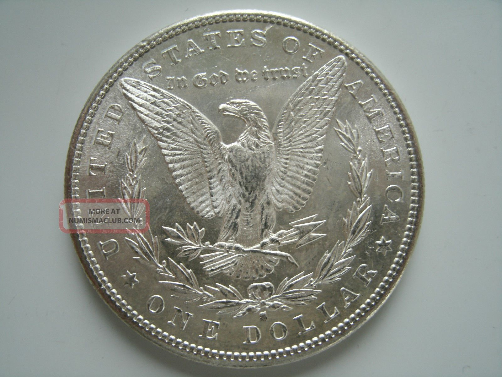 1881 S Morgan Silver Dollar Uncirculated Coin