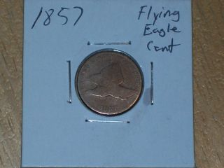 1857 Flying Eagle Cent Coin photo