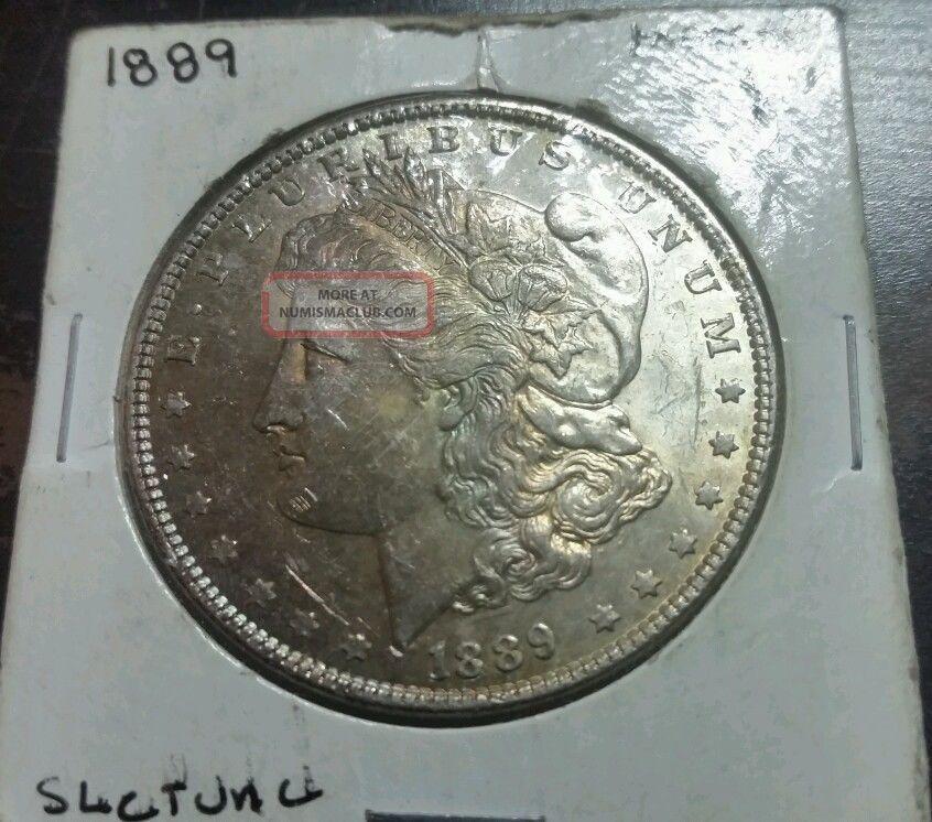 1889 $1 Morgan Silver Dollar Dollars photo