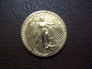1927 St.  Gauden ' S Double Eagle $20 Gold photo