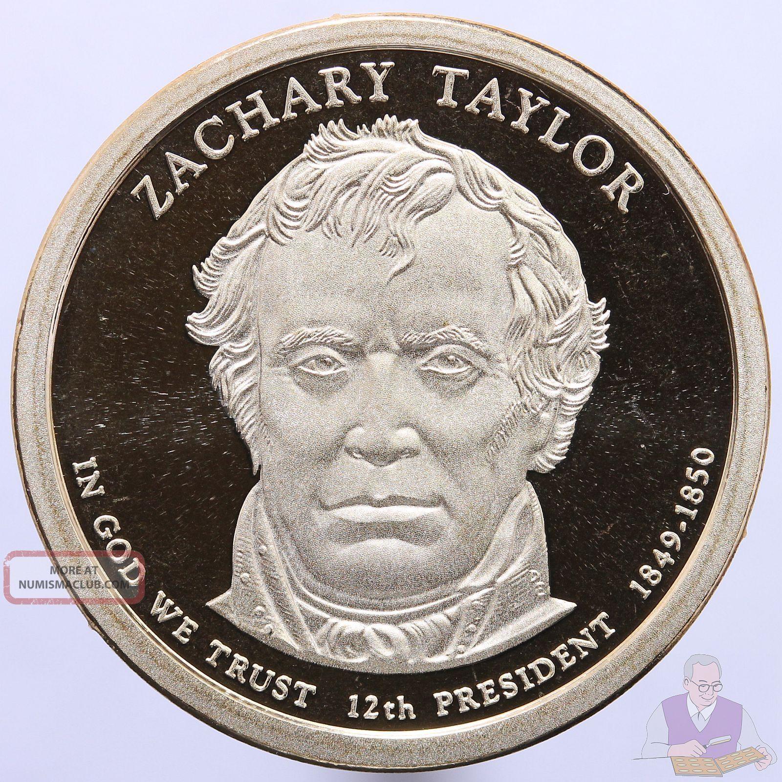 2009 S Presidential Dollar Zachary Taylor Gem Deep Cameo Proof