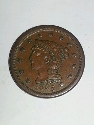 1855 Large Cent photo