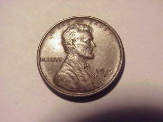 1919 S Lincoln Wheat Cent Au Details photo