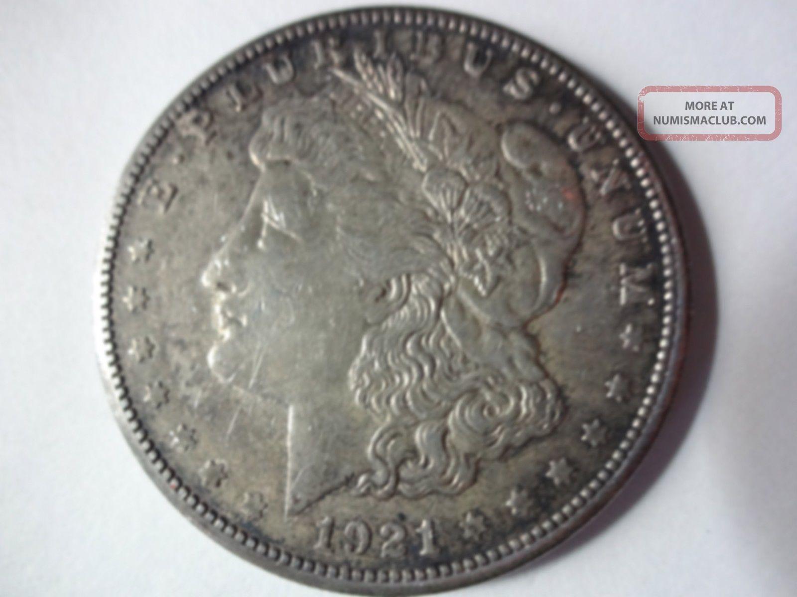1921 - S $1 Morgan Silver Dollar Dollars photo