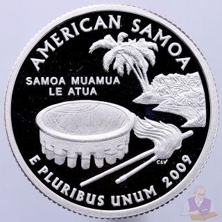 2009 S District Of Columbia Territorial Quarter U.S Gem PROOF Deep Cameo Clad