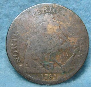 1781 North American Token photo