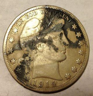 1914 Barber Half Dollar - Key Date photo