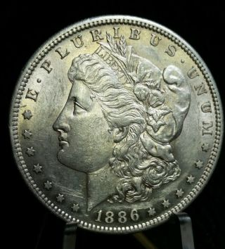 Vam 2 1886 - S/s $1 Morgan Silver Dollar Top 100, photo