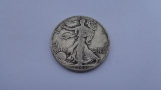1943 Walking Liberty Half Dollar Vg L@@k ```3425 photo