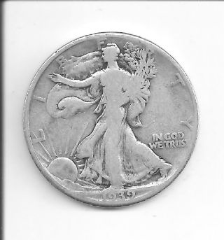 1939 Walking Liberty Half photo