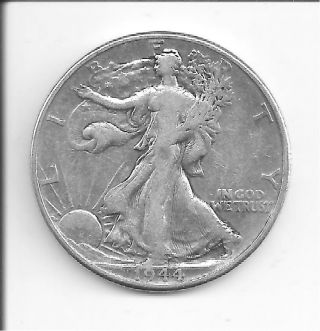 1944 Walking Liberty Half photo