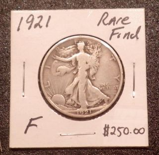 1921 - P Walking Liberty Half Dollar Rare Key Date photo