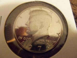 1973 S Proof Kennedy Half Dollar 50c photo