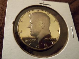 1982 S Proof Kennedy Half Dollar 50c photo