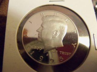 1995 S Proof Kennedy Half Dollar 50c photo