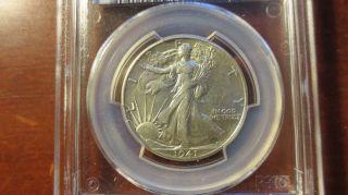 1941 Walking Liberty Half Dollar Au 55 photo
